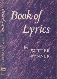 Book of Lyrics