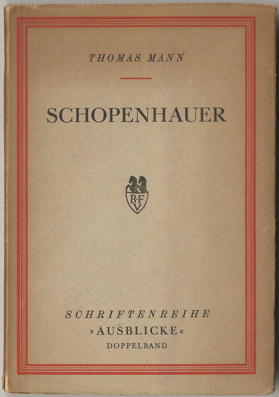 Stockholm: Bermann-Fischer, 1938. Softcover. Very Good. First edition (Schriftenreihe