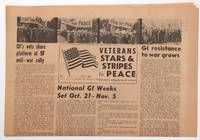 image of Veterans Stars and Stripes for Peace. Vol. 2, no. 1 (Oct. 1968)