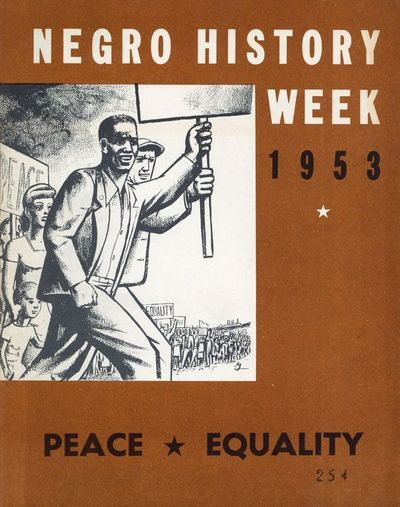: Educational Department, New York State Communist Party, 1953. First Edition. Quarto. Staple-bound ...