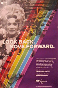 image of Look Back. Move Forward Rolled Poster