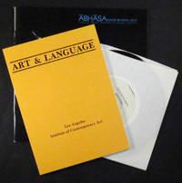 Collaborations. Art & Language. PLUS Abhasa: image-bearing light. PLUS Music from Abhasa (LP record)