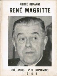 """René Magritte (Revue """"Rhétorique"""" n° 3)"""