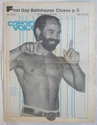 California Voice: the responsible gay press; vol. 6, #16, April 19-25, 1984; First Gay Bathhouse Closes
