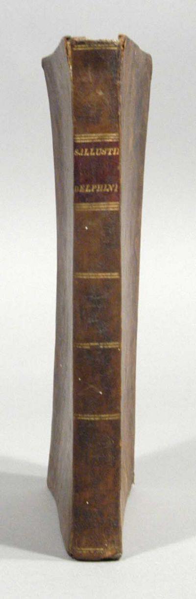 1814. C. SALLUSTII CRISPI. C. SALLUSTII CRISPI OPERA OMNIA QUAE EXTANT, INTERPRETATIONE ET NOTIS ILL...