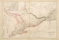 CANADA WEST, AND PART OF CANADA EAST by  Joseph Wilson LOWRY - 1860 - from Peter Harrington (SKU: 54952)