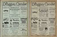 THE DRUGGISTS CIRCULAR, A PRACTICAL JOURNAL OF PHARMACY AND GENERAL  BUSINESS ORGAN FOR DRUGGISTS (1923, 2 ISSUES)