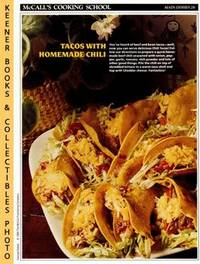 image of McCall's Cooking School Recipe Card: Main Dishes 28 - Chili Tacos :  Replacement McCall's Recipage or Recipe Card For 3-Ring Binders : McCall's  Cooking School Cookbook Series
