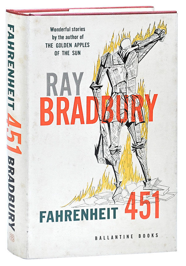 a personal critique of fahrenheit 451 a book by ray bradbury I've never read fahrenheit 451 until now it's one of those books that gets discussed alongside orwell's nineteen-eighty-four, huxley's brave new world and seminal works of genre fiction so, when i learned of the release of a new beautiful slipcase hardback version of ray bradbury's.