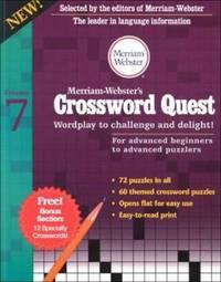 Merriam-Webster's Crossword Quest: Wordplay to Challenge and Delight! (Crossword Quest Series)