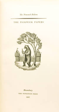 image of The Pickwick Papers. [At head of title:] The Nonesuch Dickens