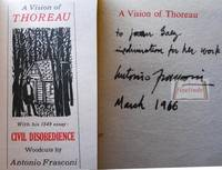 A Vision Of Thoreau With His  Essay Civil Disobedience With  A Vision Of Thoreau With His  Essay Civil Disobedience With Woodcuts By  Antonio Frasconi By  Essay On Health Awareness also Thesis Statement Example For Essays Thesis Example Essay