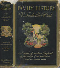 Family History by  V Sackville-West - First edition - 1932 - from Common Crow Books (SKU: C000014219)