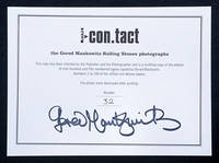 I Con.tact. Rolling Stone Archive. by  Gered ROLLING STONES - MANKOWITZ - Signed First Edition - 1998 - from Peter Harrington (SKU: 114867)