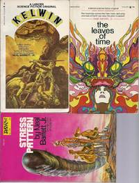 """""""NEAL BARRETT JR."""" FIRST EDITIONS: Kelwin / The Leaves of Time / Stress Pattern"""