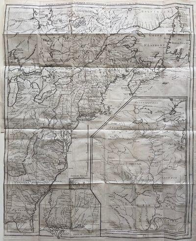 Paris: Chez Buissant, 1787. Georges Louis Le Rouge. Map. Engraving with outline hand coloring 24 x 1...
