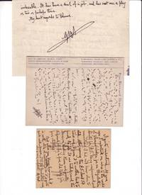 EVERYBODY'S POLITICAL WHAT'S WHAT? Manuscript Page, Page Proofs and 3 AUTOGRAPH LETTERS SIGNED (ALSs) by SHAW by  George Bernard SHAW - Signed First Edition - 1943 and 1944 - from Charles Agvent (SKU: 013120)