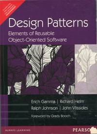 image of Design Patterns; elements of reusable ofject-oriented software