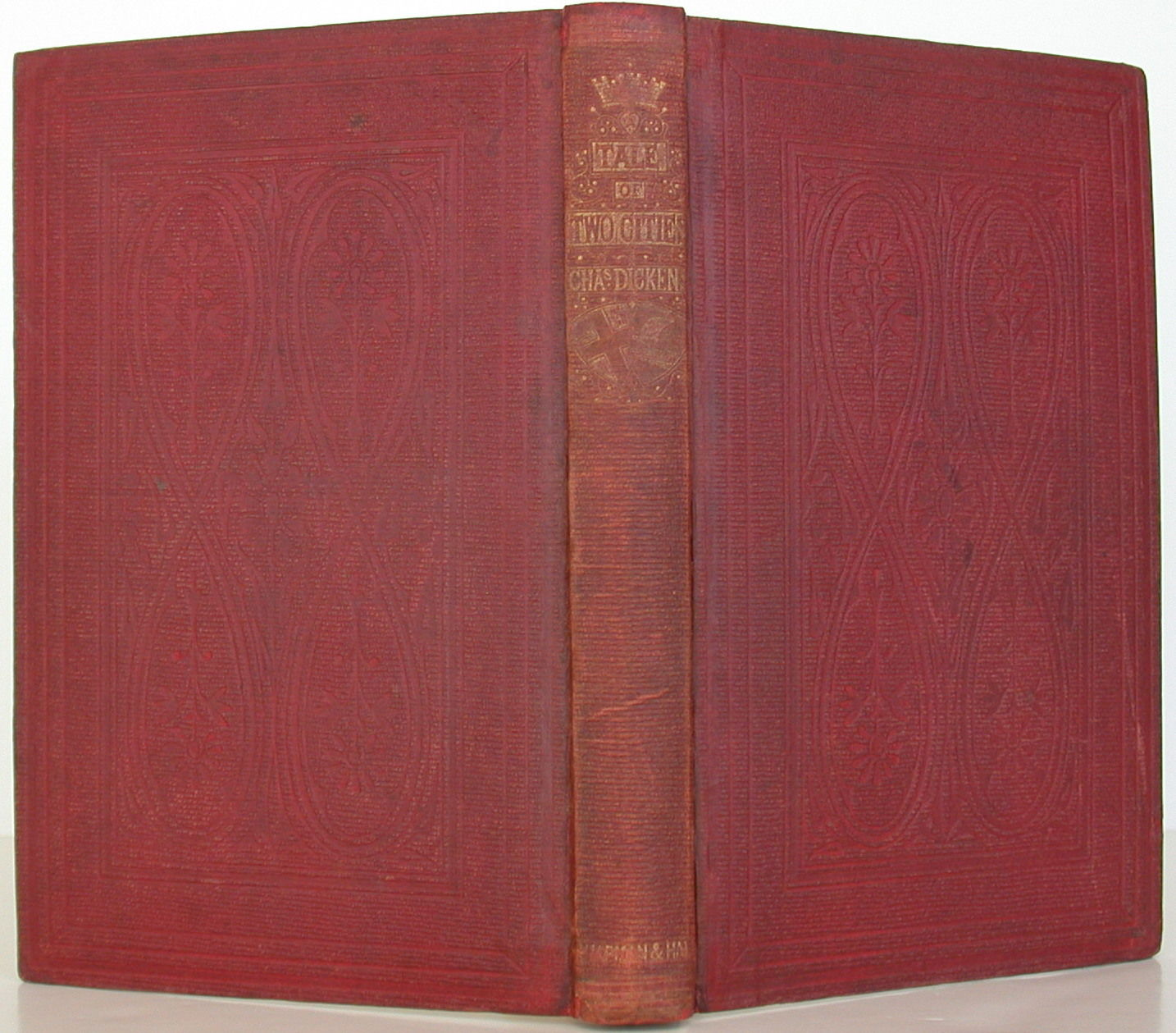 A Tale Of Two Cities By Charles Dickens - 1St Edition - 1859 - From Bookbid Rare Books And