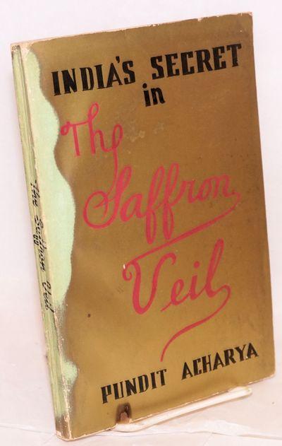 Nyack, NY: Prana Press, 1953. 198p., metallic bronze wraps discolored with small cigarette burn at t...