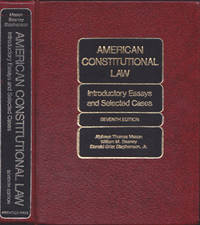 image of American Constitutional Law: Introductory Essays and Selected Cases