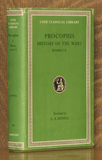 PROCOPIUS I - HISTORY OF THE WARS BOOKS I - II [THE PERSIAN WAR] - Loeb Classical Library LCL 48
