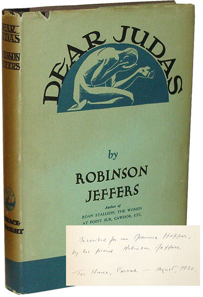 New York: Horace Liveright, 1929 First edition, first printing. Inscribed by Jeffers to the front fr...