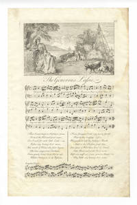 The Generous Lassie. Plate 92 from George Bickham's The Musical Entertainer