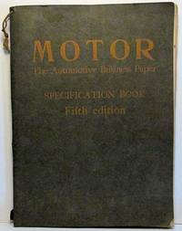 MOTOR The Automotive Business Paper SPECIFICATION BOOK Fifth edition (1928)