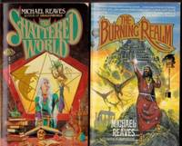 "Shattered World:  book 1 - The Shattered World;  book 2 - The Burning Realm  -complete two volume set ""Shattered World"""