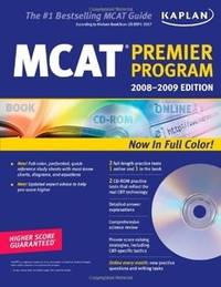 Kaplan MCAT 2008-2009 Premier Program (w/ CD-ROM) (Kaplan MCAT Premier Program (W/CD))