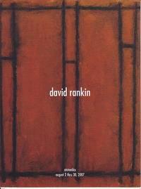 image of DAVID RANKIN Exhibition Catalogue at Boltax Gallery, August 2 Thru 30, 2007