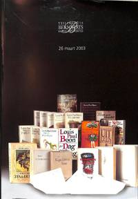 Veiling 72, 26 Maart 2003 :26ième Vente De Livres et D'arts Grapgiques /  26ste Boeken- En Grafiekveiling.