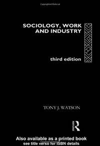 image of Sociology, Work and Industry