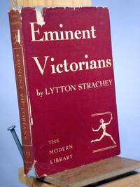 Eminent Victorians by Lytton Strachey - Hardcover - Reprint.  - 1918 - from Henniker Book Farm and Biblio.com