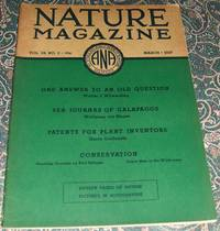 image of An Original Vintage Issue of Nature Magazine for March 1937