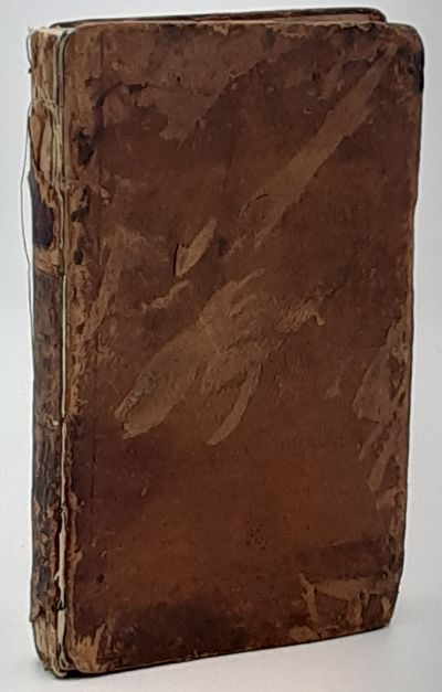 New York.: Isaac Riley., 1809. 1st edition.. Contemporary full brown leather. . Fair, spine frayed, ...