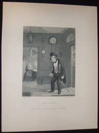 image of Original1870 Antique Engraving Titled the Spirit by R. Armstrong