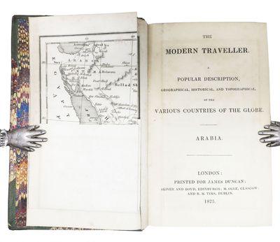 London: Printed for James Duncan, 1825. 1st edition. Contemporary maroon half-calf with marbled boar...