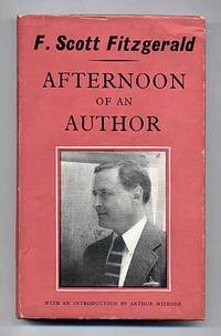 F Scott Fitzgerald Books Afternoon of an Author...