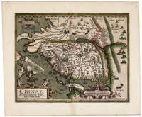 A FINE EXAMPLE OF THE FIRST EUROPEAN MAP OF CHINA IN ENGLISHIN RICH ORIGINAL HANDCOLORChinae, olim Sinarum regionis, nova descriptio. [London, 1606].