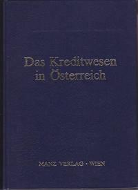 image of Das Kreditwesen in Osterreich Festschrift Fur Hans Krasensky Zum 80. Geburtstag