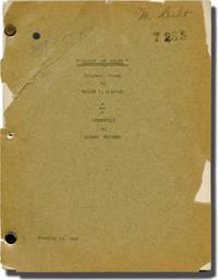 [Inner Sanctum] Pillow of Death (Original screenplay for the 1945 film, Marion Pecht's copy)