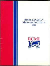 image of ROYAL CANADIAN MILITARY INSTITUTE YEAR BOOK 1990.