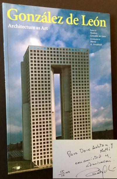 Milan: L'Arca Edizioni, 1998. Original wraps. Near Fine. INSCRIBED BY THE MEXICAN ARCHITECT TEODORO ...
