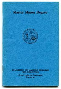 Master Mason Degree by Committee on Masonic Research and Education - Paperback - from Book Happy Booksellers and Biblio.com