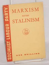Marxism versus Stalinism