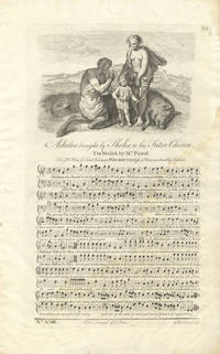 Achilles brought by Thelis to his Tutor Chiron. The Music by Mr. Purcel[!]. Plate 89 from George Bickham's The Musical Entertainer