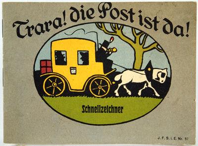 (Children's Book). Trara! Die Post is...