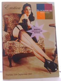image of Catalogue of Erotica, Sale 624 Thursday, 20th September  2007